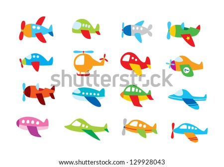 plane graphic - stock vector