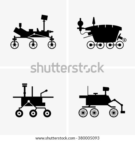 mars rover vector - photo #1