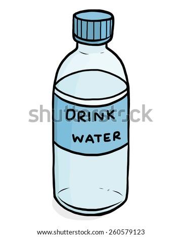 Water Bottle Sketch Stock Illustrations & Cartoons ...