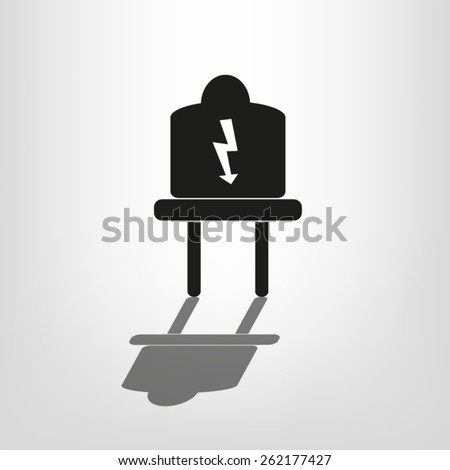 plug electric - stock vector