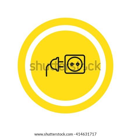 plug socket icon. plug socketco Vector. plug socket icon Art. plug socket icon eps. plug socket icon Image. plug socket icon logo. plug socket icon Sign. plug socket icon Flat. plug socket icon design - stock vector