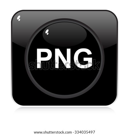 png button  - stock vector