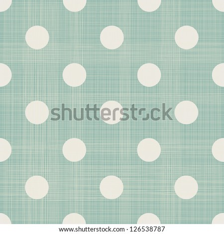 polka dot seamless pattern - stock vector