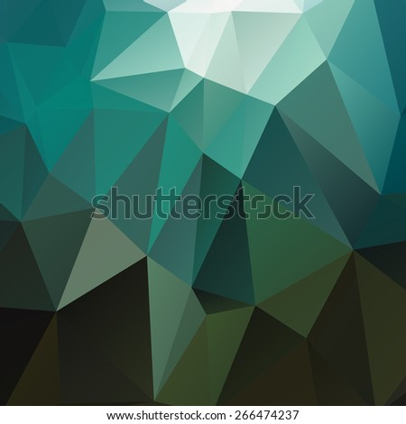 Polygonal abstract geometry background. Vector polygon texture - stock vector