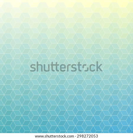 polygonal mosaic background, Vector illustration, Business design templates - stock vector