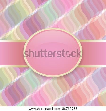 Pop art raster retro cover - stock vector