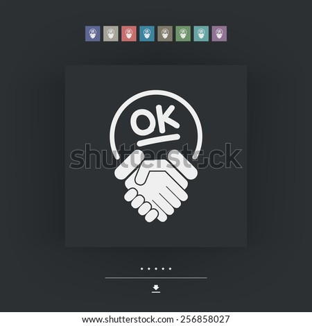 Positive result - stock vector