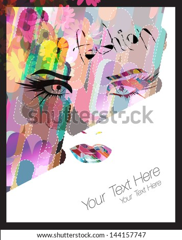 Poster Template - stock vector