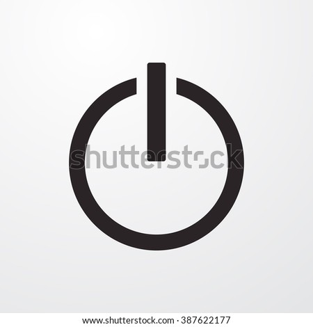 Power icon, Power icon eps10, Power icon vector, Power icon eps, Power icon jpg, Power icon path, Power icon flat, Power icon app, Power icon web, Power icon art, Power icon, Power icon AI, Power icon - stock vector