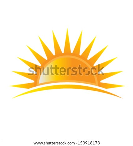 Power Sun Vector - stock vector