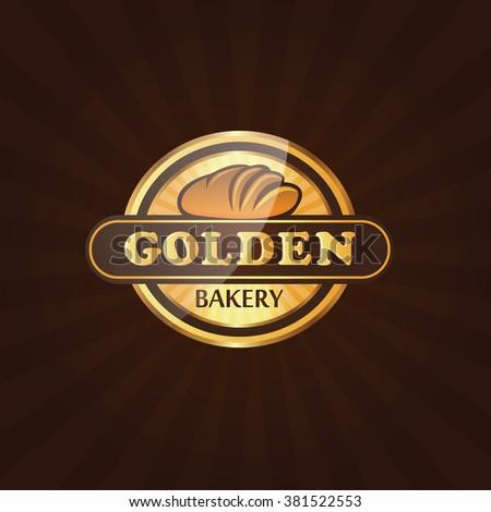 Premium Bakery Label Logo Vector - stock vector