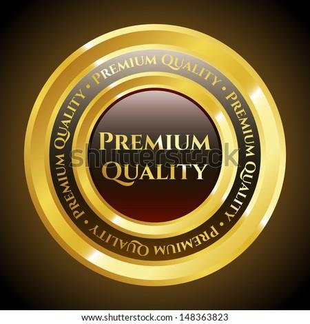 Premium Quality Medal - stock vector