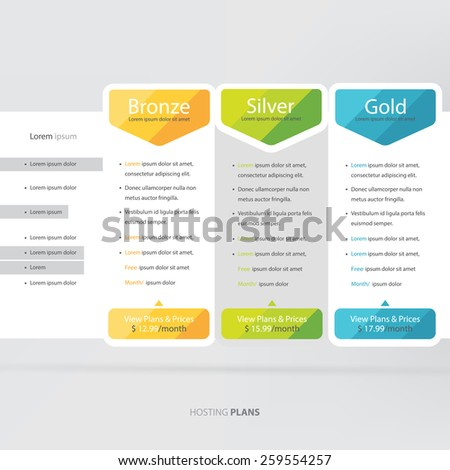 Price List Banner Price List Vector Pricing Box