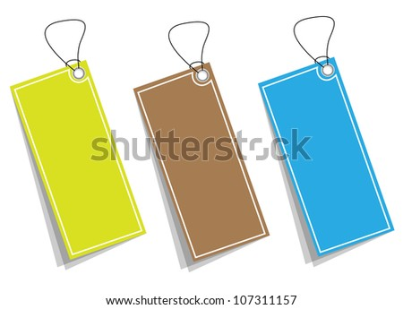 Price tag collection. Vector - stock vector