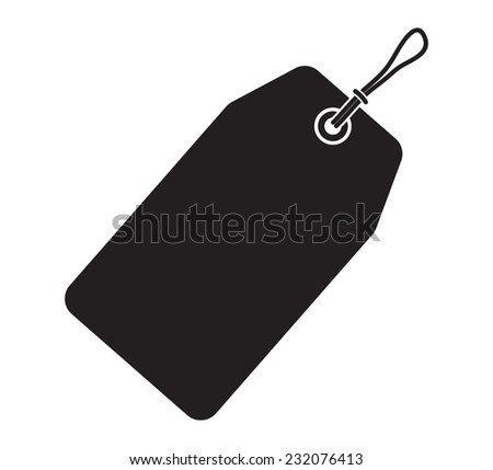 Price tag - Sale icon - stock vector