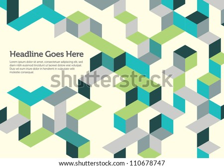 Print/Poster/Background/Design Layout/Graphics - stock vector