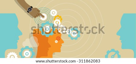 process automation business automated concept production - stock vector