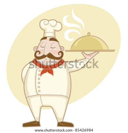 Professions - Chef - stock vector