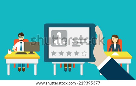 Profile to social media with personal information - vector illustration - stock vector