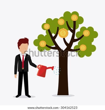 Profit business design, vector illustration eps 10. - stock vector