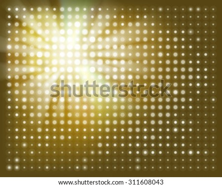 Projection screen. Vector illustration. - stock vector