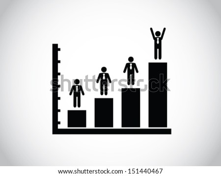 Promoted - stock vector