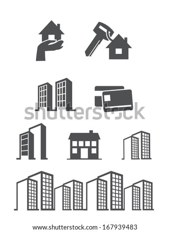 property icon - stock vector