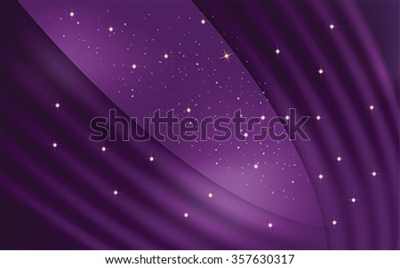 Purple abstract background, vector - stock vector