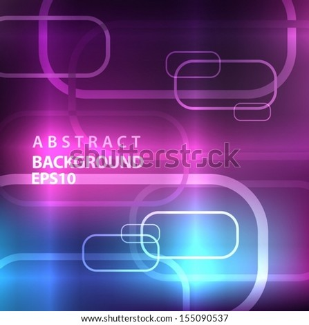Purple Abstract Background. Vector EPS 10 illustration. - stock vector