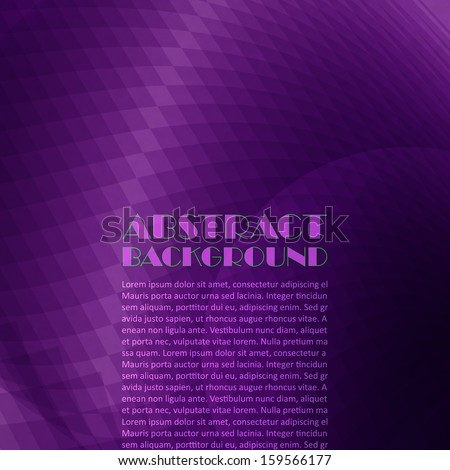 Purple background - stock vector