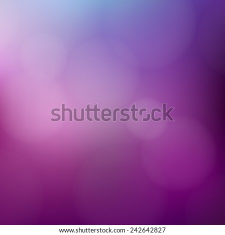 Purple background with defocused lights - Vector - stock vector