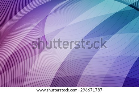 Purple, blue and light blue background with diagonal stripes. Horizontal minimal backdrop. Technology. Can be use for cover cataloges, business card or other print. Vector version  - stock vector