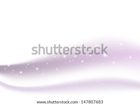 Purple light background with place for text - stock vector