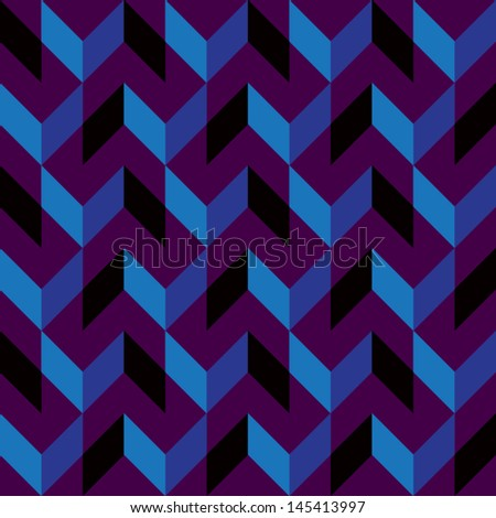 Purple Maze - stock vector