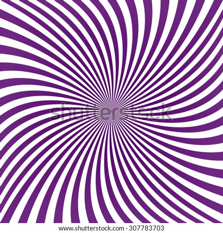 Purple twirl pattern background - stock vector
