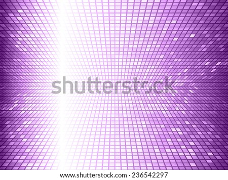 purple Vector abstract design. pixels mosaic background computer graphic website and internet.  - stock vector