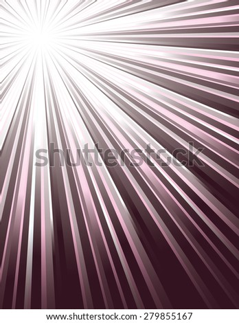 Purple Vector Rays. Abstract Modern Background. - stock vector