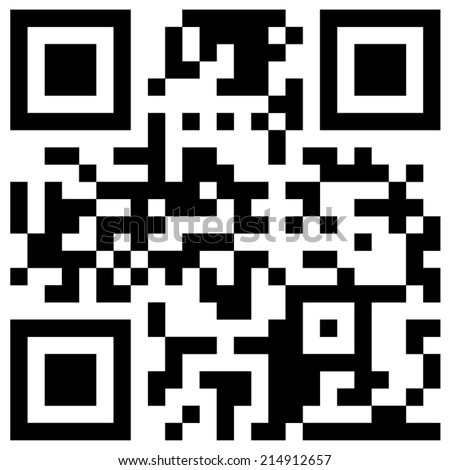 "QR code with hidden text  ""Marry me"" in black and white color - stock vector"