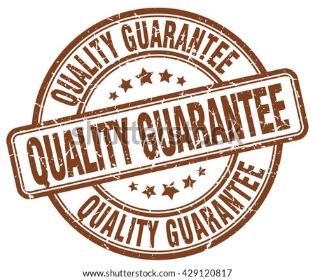 quality guarantee brown grunge round vintage rubber stamp.quality guarantee stamp.quality guarantee round stamp.quality guarantee grunge stamp.quality guarantee.quality guarantee vintage stamp. - stock vector