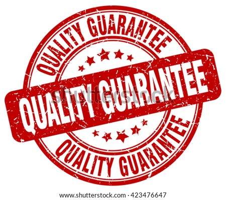 quality guarantee red grunge round vintage rubber stamp.quality guarantee stamp.quality guarantee round stamp.quality guarantee grunge stamp.quality guarantee.quality guarantee vintage stamp. - stock vector