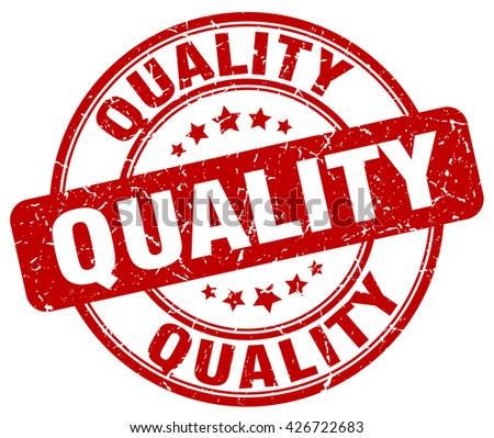 quality red grunge round vintage rubber stamp.quality stamp.quality round stamp.quality grunge stamp.quality.quality vintage stamp. - stock vector