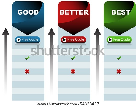 Quote Chart - stock vector