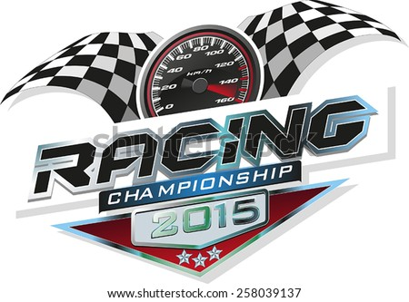 Racing Championship - stock vector
