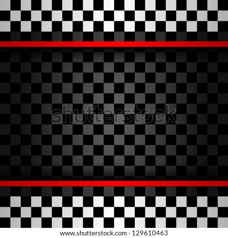 Racing square backdrop, vector illustration 10eps - stock vector