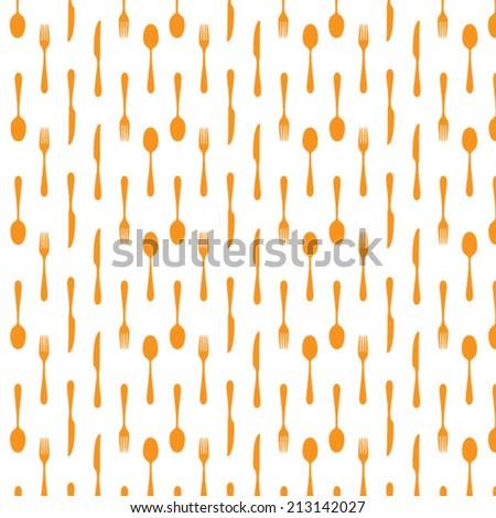 Radial cutlery menu background - cloche - stock vector