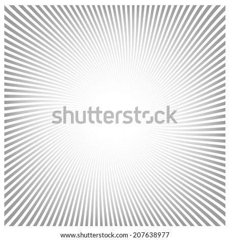 Radial Speed Lines graphic effects  - stock vector
