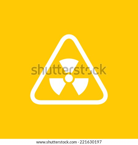 Radiation sign - Vector - stock vector