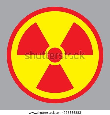 Radioactive sign - stock vector
