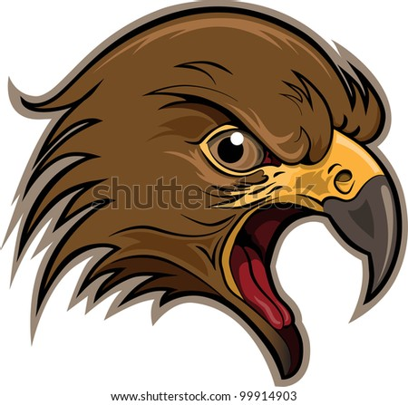 Raptor, Bird of Prey - stock vector