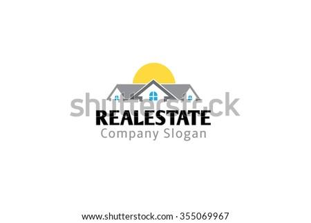 Real Estate Design Illustration - stock vector